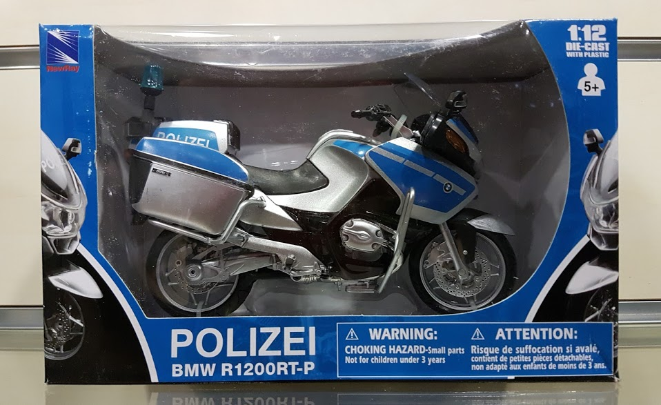 Model motocykla BMW R 1200 RT-P Polizei 1:12