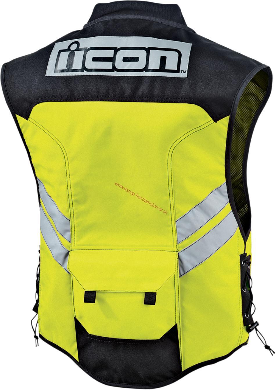 549f17ad7 MOTO oblečenie   Reflexná vesta ICON/2 Farby   Internetový obchod ...