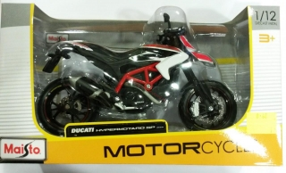 Model motocykla DUCATI HYPERMOTARD SP 2013 1:12