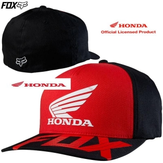 HONDA FOX šiltovka Basic Hat Black