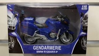 Model motocykla BMW R1200 RT-P Gendarmerie 1:12