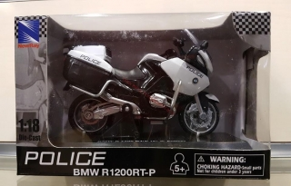 Model motocykla BMW R 1200 RT-P US Police 1:18