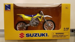 Model motocykla SUZUKI RM-Z450 2007 Dirt Bike 1:18